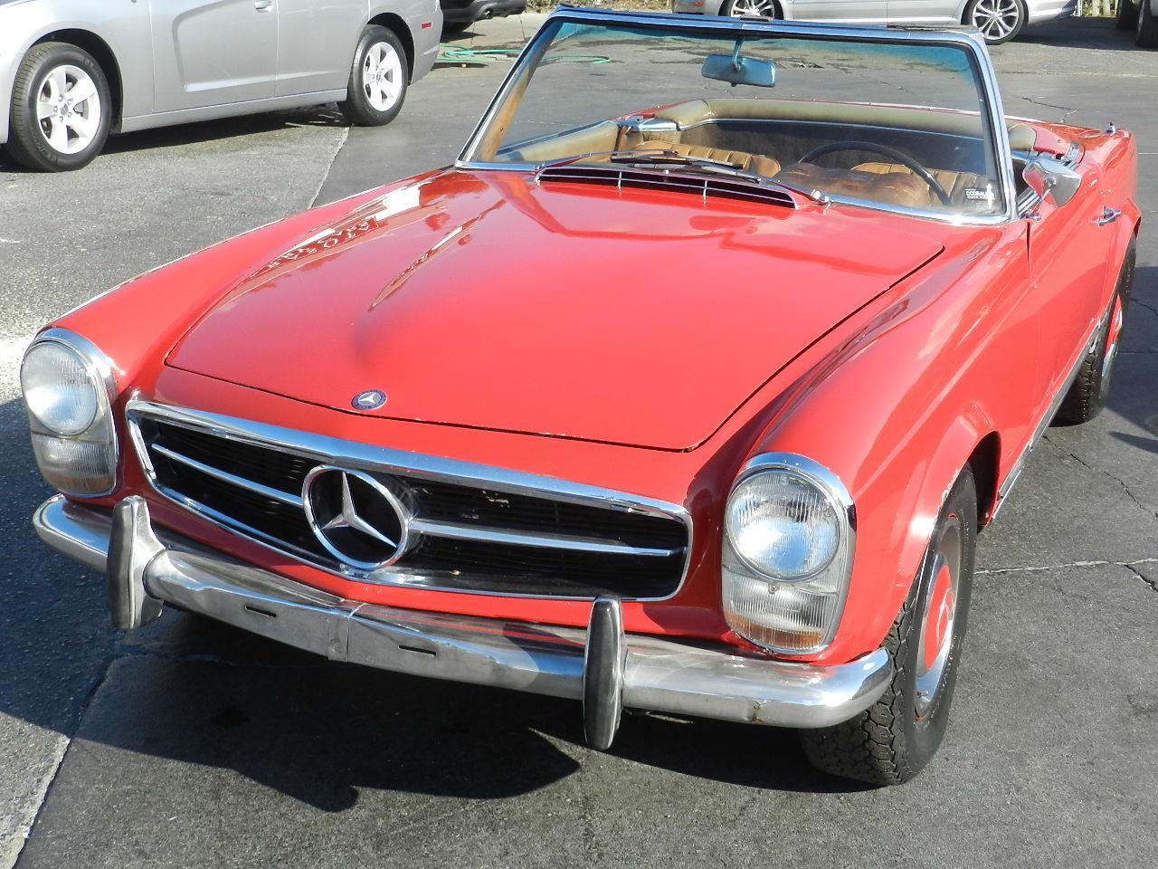 1967 mercedes benz 230sl pagoda used mercedes benz 230sl for Mercedes benz sarasota florida